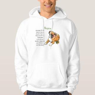 Boxer Dog Gifts Sweatshirt Hoodie