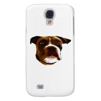 Boxer Dog Head 3 The MUSEUM Zazzle Gifts Samsung Galaxy S4 Cover