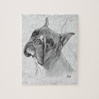 Boxer Dog Head Puzzles