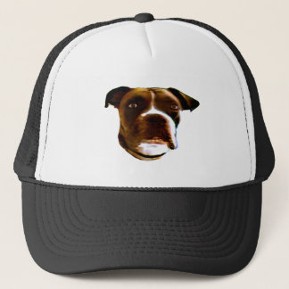 Boxer Dog Head The MUSEUM Zazzle Gifts Trucker Hat