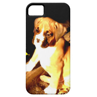 Boxer dog iPhone 5 Barely There Universal Case iPhone 5 Cover