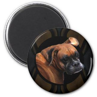 Boxer Dog Magnets