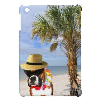 Boxer dog on the beach ipad Mini Case
