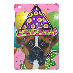 Case Savvy iPad Mini Glossy Finish Case with Boxer Phone Cases design