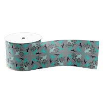 Boxer dog Pattern Grosgrain Ribbon