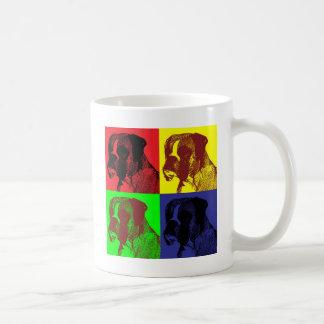 Boxer Dog Pop Art Style Coffee Mug