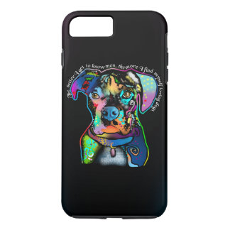 Boxer Dog Pop Art Style for Dog Lovers iPhone 7 Plus Case