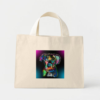 Boxer Dog Pop Art Style for Dog Lovers Mini Tote Bag
