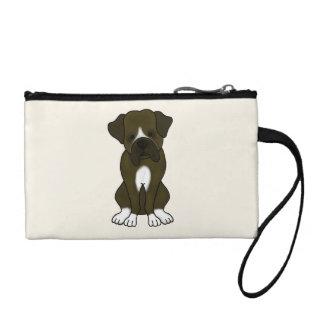 Boxer Dog Puppy Coin Purse