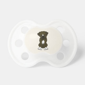 Boxer Dog Puppy Pacifier