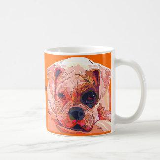 BOXER DOG Sad Look Coffee Mug