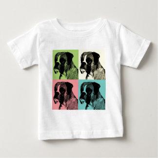 Boxer Dog Stamper Pop Art Tshirts