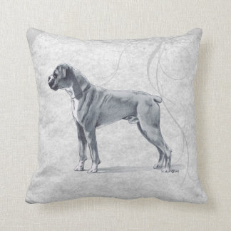 Boxer Dog Standing Pillows