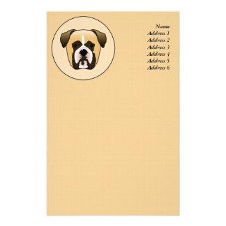 Boxer Dog Stationery