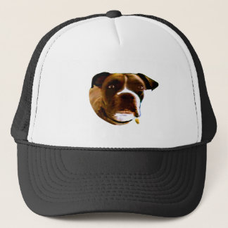 Boxer Dog The MUSEUM Zazzle Gifts Trucker Hat