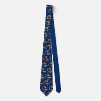 Boxer Dog Tie