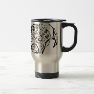 Boxer Dog Travel Mug