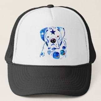 Boxer Dog Trucker Hat