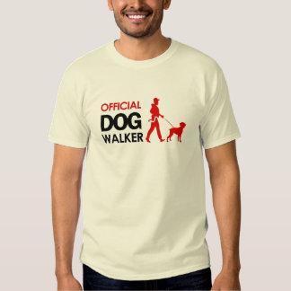 Boxer Dog Walker T-shirt
