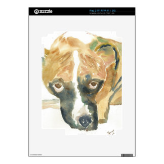 Boxer Doggie Buddy Decals For The iPad 2