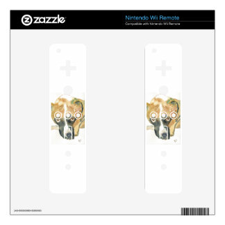 Boxer Doggie Buddy Decals For The Wii Remote