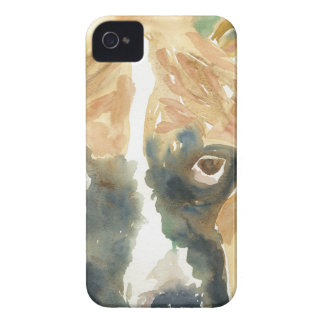 Boxer Doggie Buddy iPhone 4 Cases