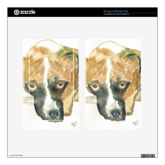 Boxer Doggie Buddy Skins For Kindle Fire