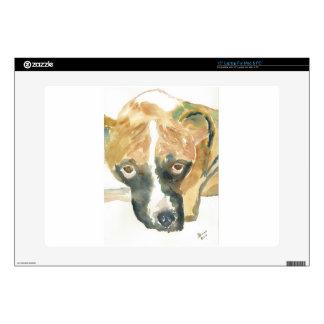 Boxer Doggie Buddy Skins For Laptops