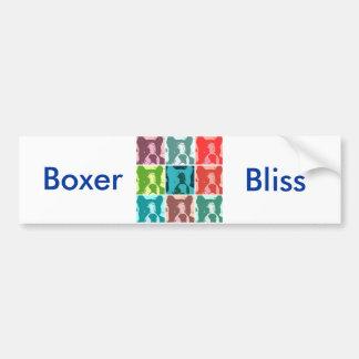 Boxer Dogs Bumper Sticker