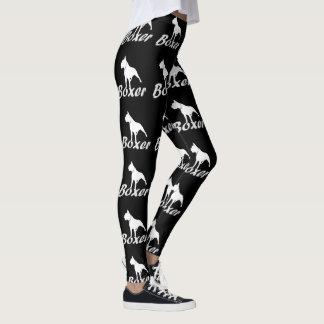 Boxer dogs fashion art leggings