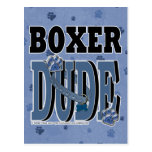 Boxer DUDE Post Card