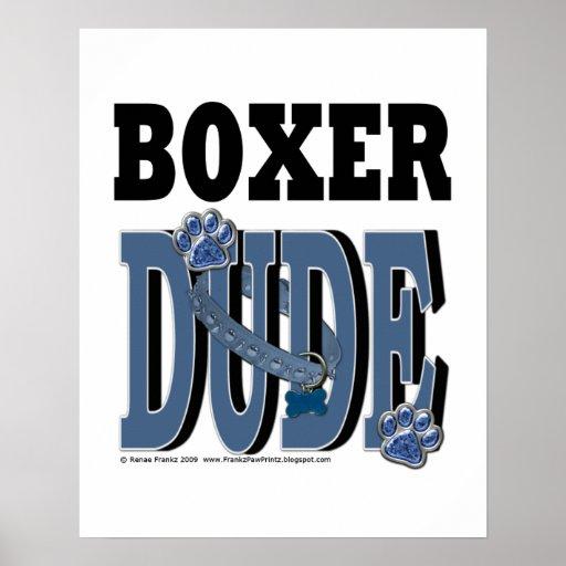 Boxer DUDE Print