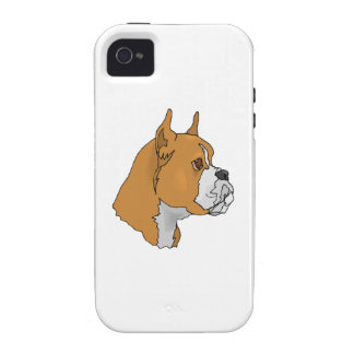 Boxer Face iPhone 4 Covers