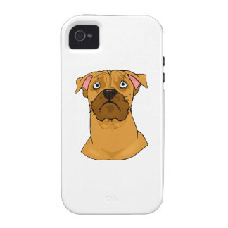 Boxer Face iPhone 4 Cases