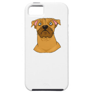 Boxer Face iPhone 5 Cases