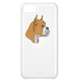 Boxer Face iPhone 5C Covers