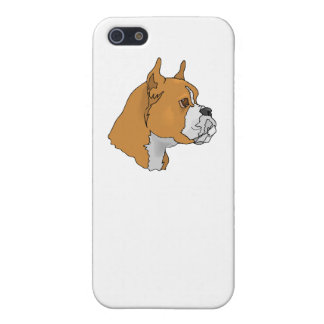 Boxer Face iPhone 5/5S Cases