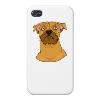 Boxer Face iPhone 4/4S Covers