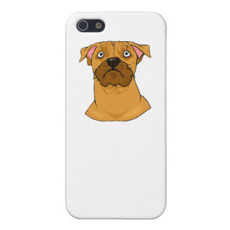 Boxer Face iPhone 5/5S Covers