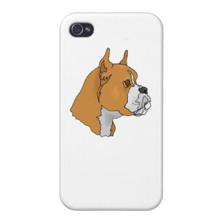 Boxer Face iPhone 4/4S Cases