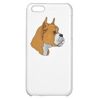 Boxer Face iPhone 5C Cases