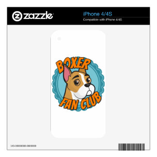 Boxer Fan Club iPhone 4S Skin