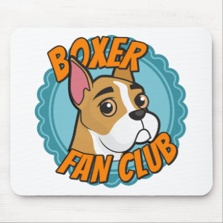 Boxer Fan Club Mouse Pad
