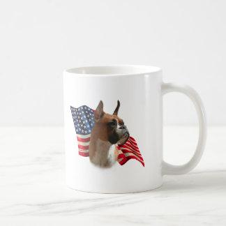Boxer Flag Coffee Mug
