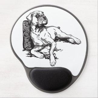 boxer gel mouse pad
