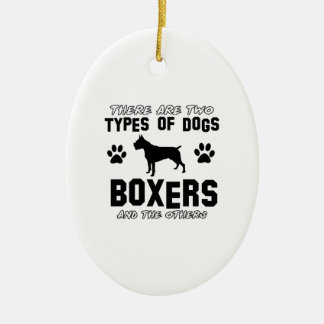 BOXER gift items Ornaments