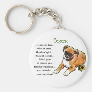 Boxer Gifts Keychain