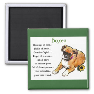 Boxer Gifts Magnet