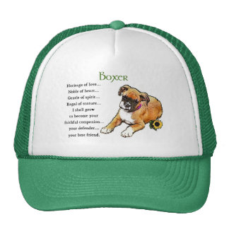 Boxer Gifts Trucker Hat