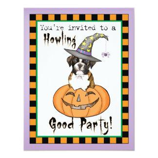 Boxer Halloween Card